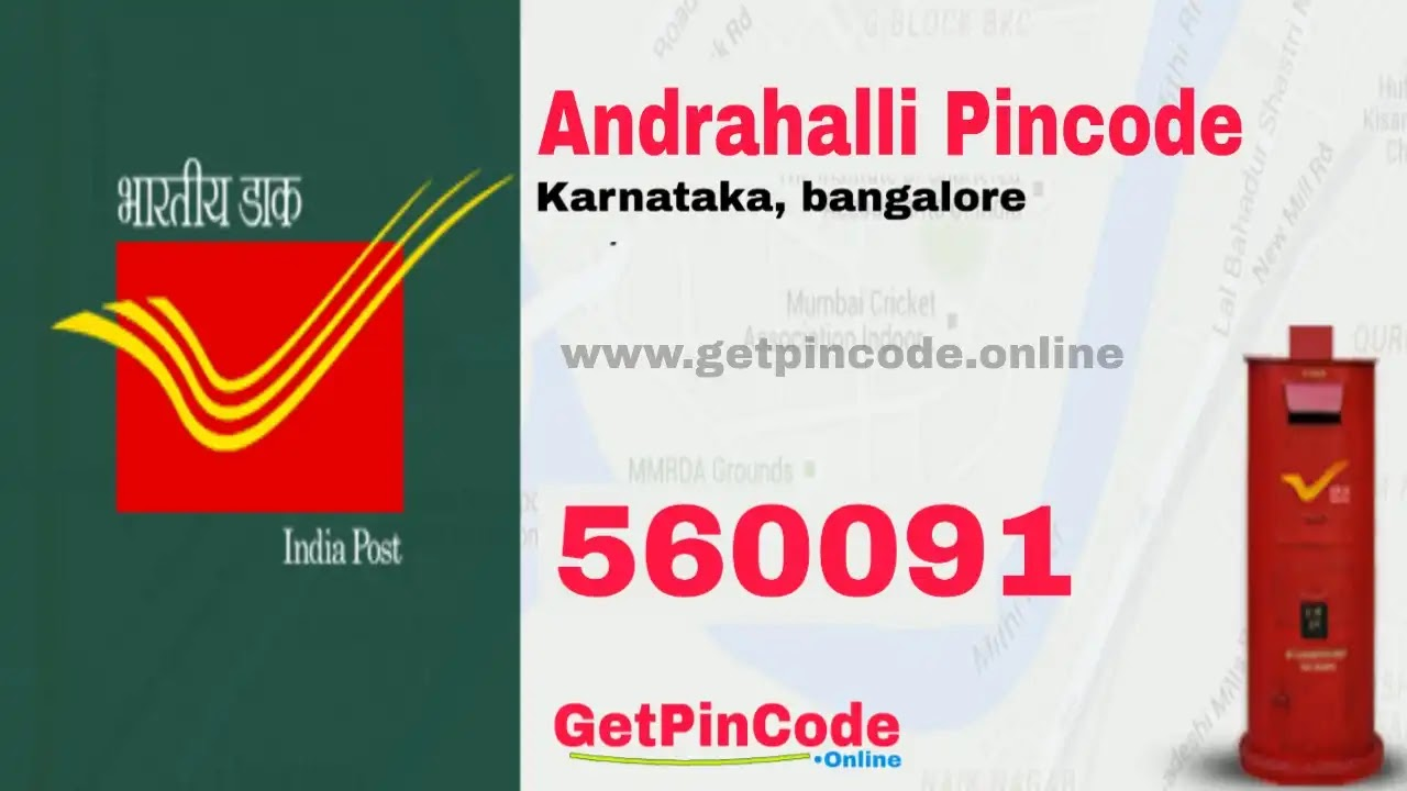 Andrahalli Pincode, bangalore andrahalli Pincode,