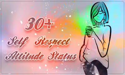 》30+Self Respect Attitude Status English