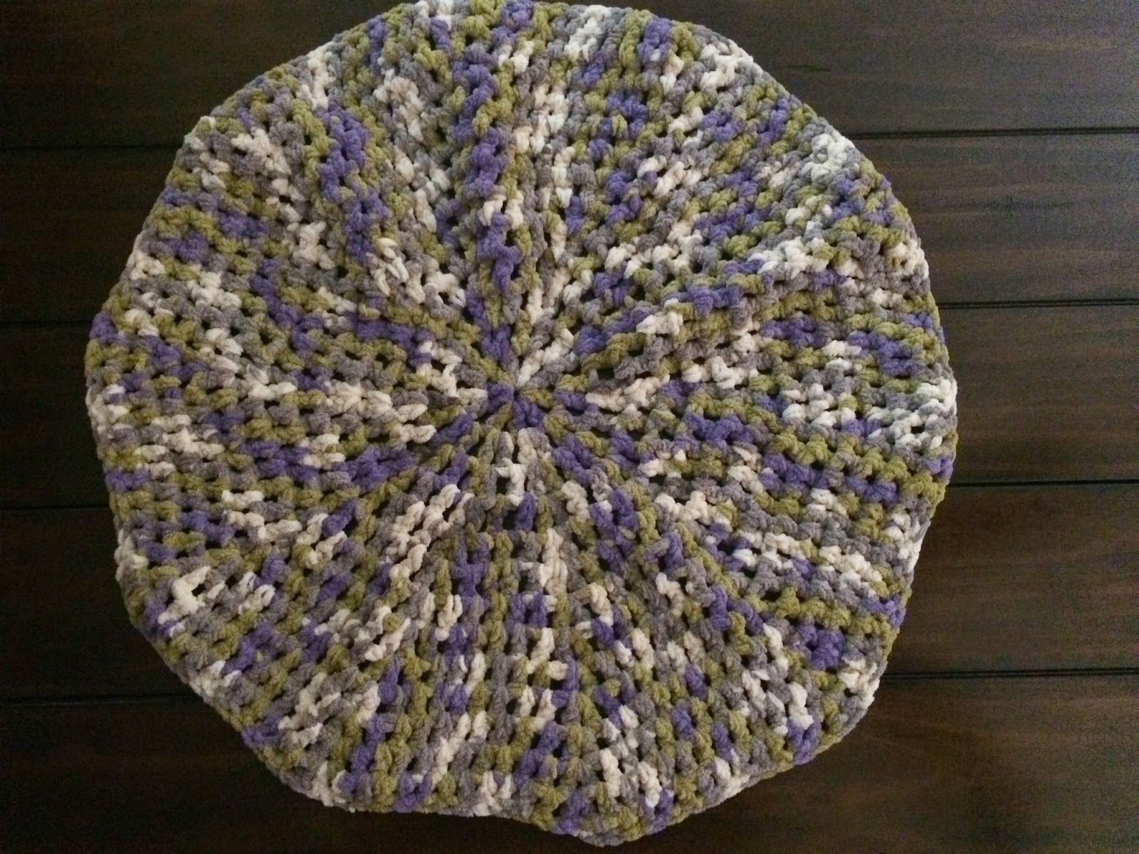 Crochet Baby Blanket In The Round – Continuous Spiral, No Join