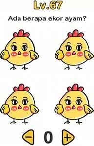 Ini Kunci Jawaban Brain Out Ada Berapa Ekor Ayam?