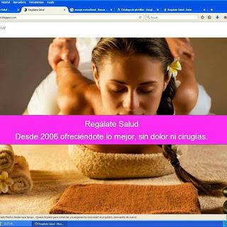 Web masaje terapeutico