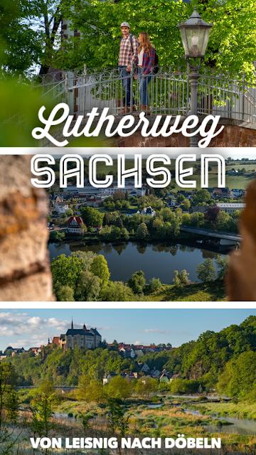 Lutherweg von Leisnig nach Döbeln - Wandern in Sachsen - Region Leipzig - Burg Mildenstein - Kloster Buch - Wanderung 21