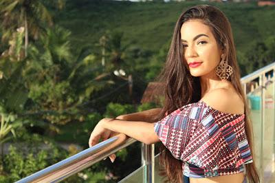 Samyra Vieira representa Maruim na etapa estadual do Miss Teen Brasil