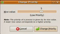 Changing Priority of Process in Linux