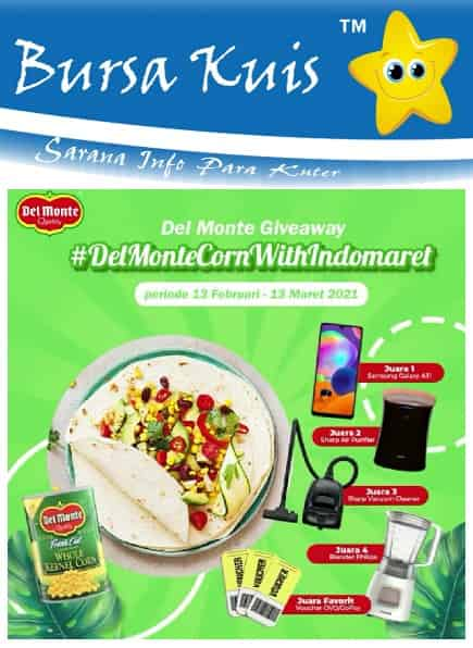Kuis Online Delmonte Berhadiah Smartphone Samsung