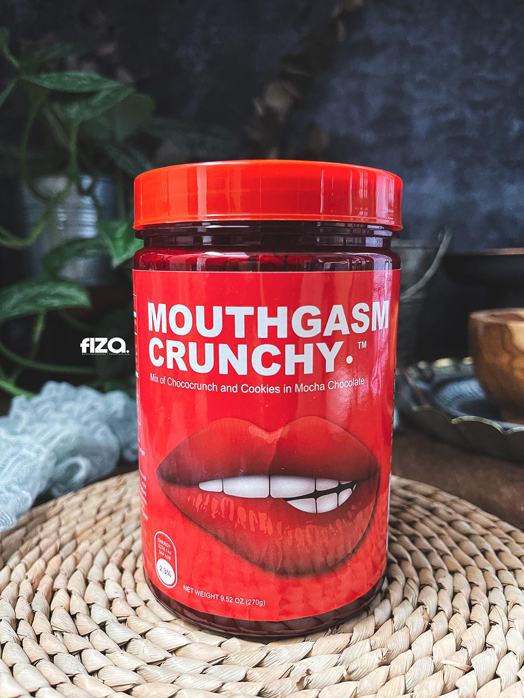 Mouthgasm Crunchy Chocolate Mocha 300g