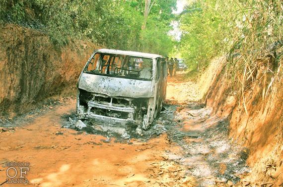 Five burnt bodies found in Dankotuwa - Updates 2
