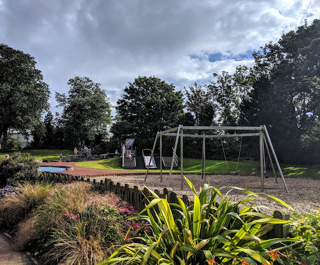 Ridley Park, Blyth - One of the best parks in Northumberland - under 11s play area