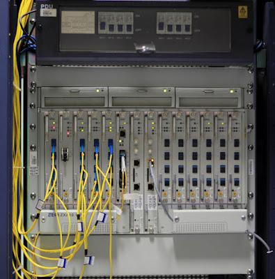 Fungsi Optical Line Terminal Pada jaringan FTTH
