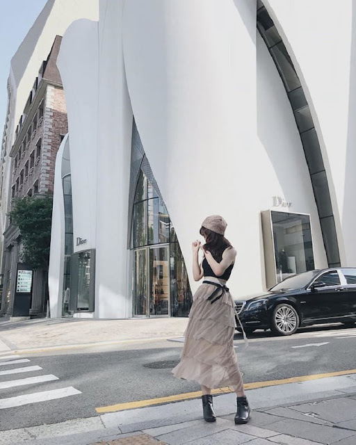 Toà nhà House of Dior gồm 6 tầng