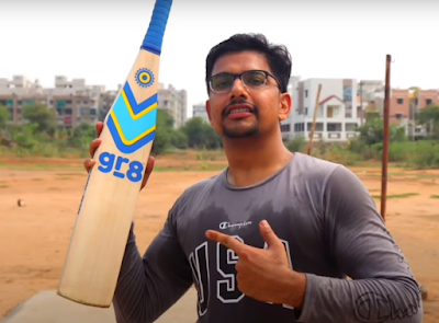 GR8 1983 Bat Review By Khushal Barot