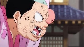 ワンピースアニメ 992話 ワノ国編   ONE PIECE 光月モモの助 MOMONOSUKE
