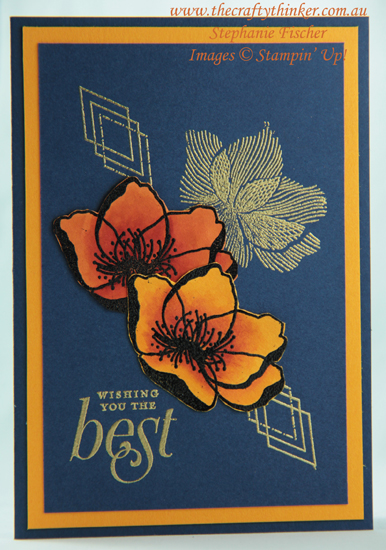 #thecraftythinker  #stampinup  #cardmaking  #rubberstamping  #beautifulpromenade , Beautiful Promenade, Floral card, Stampin' Up Australia Demonstrator, Stephanie Fischer, Sydney NSW