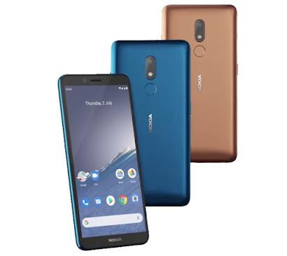 Nokia C3 specifications