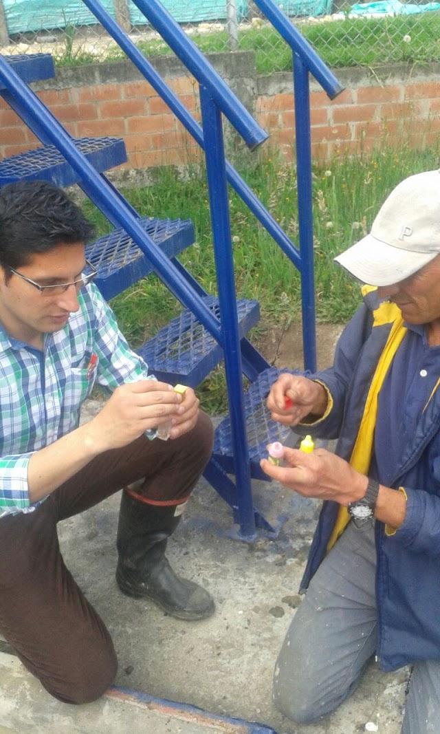 Autoridades sanitarias inspeccionan calidad del agua en sector rural de Facatativá