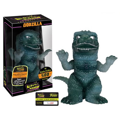 """Classic Clear"" Godzilla Hikari Sofubi Vinyl Figure by Funko"