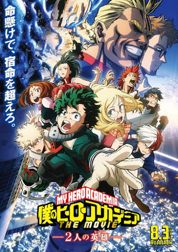 My Hero Academia: Two Heroes (BRRip 720p Español Latino) (2018)