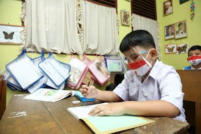 Dinas Pendidikan Pelalawan Kembali Berlakukan Belajar Secara Daring
