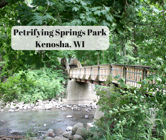 Petrifying Springs Park in Kenosha, Wisconsin