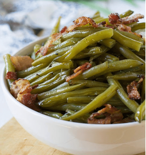 Southern-Style Green Beans #vegetarian #easy #vegan #paleo #salad