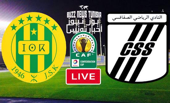 Match Jeunesse sportive de Kabylie vs Club Sportif Sfaxien Live Streaming