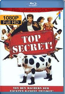 Top Secret (1984) [720p BRrip] [Latino-Inglés] [LaPipiotaHD]