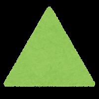 正三角形のイラスト