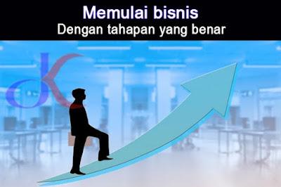 Memulai bisnis | Dengan tahapan yang benar