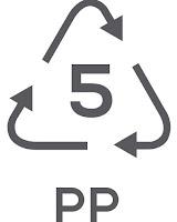 Simbol Daur Ulang Plastik 5 - Polypropylene (PP)
