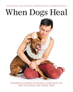 When Dogs Heal: book cover. An interview with Jesse Friedin and Dr. Rob Garofalo