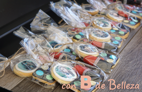 Galletas decoradas con fotos