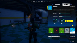 How to make a weapon with alien nanoparticles fortnite