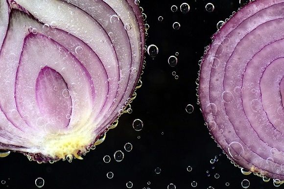 bawang merah iris