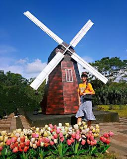 Jelajahi miniatur ikon dunia di World Landmark Merapi Park, Yogyakarta