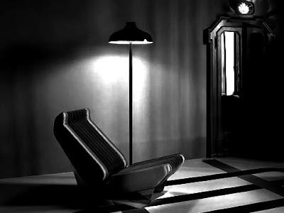 Un salotto anni 70 simile a quello dell'incubo ricorrente della mia infanzia