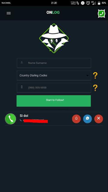 Cara melihat last seen whatsapp orang lain yang disembunyikan tanpa root 1