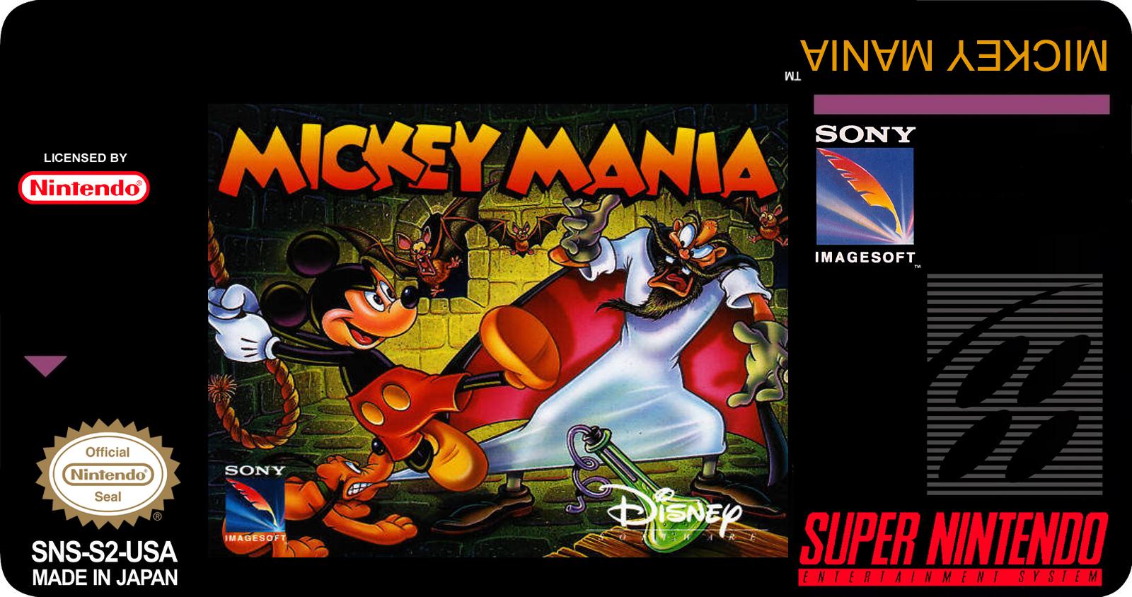 Dica: MICKEY MANIA - Snes Returns