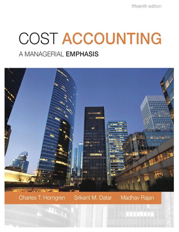 محاسبة التكاليف Cost Accounting