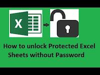 Cara Membuka Protect Sheet Excel Dengan Sangat Gampang Dan Cepat