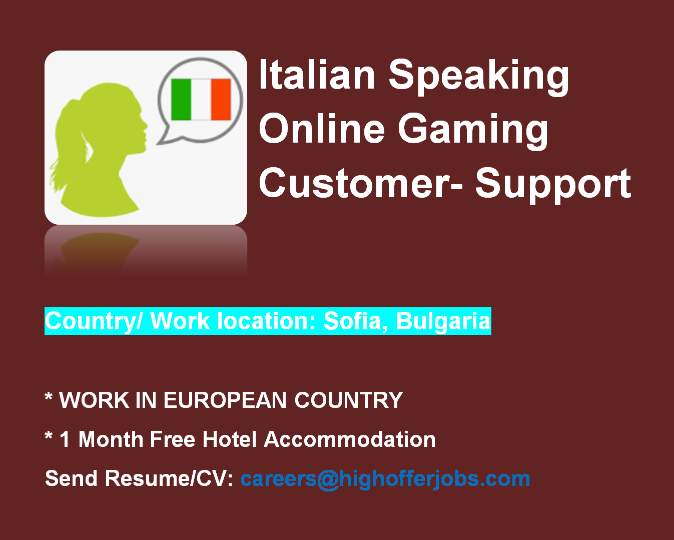 Technical Support Agent - Italian Speaking - Athens