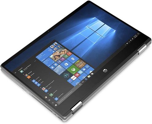 HP Pavilion x360 14-dh0009ns: convertible 4 en 1 de 14'' con procesador Core i5 y gráfica GeForce MX130 (2 GB)