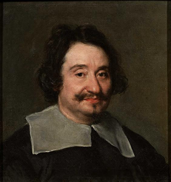 Диего Веласкес - Портрет мужчины, называемый Папский парикмахер (ок.1650)