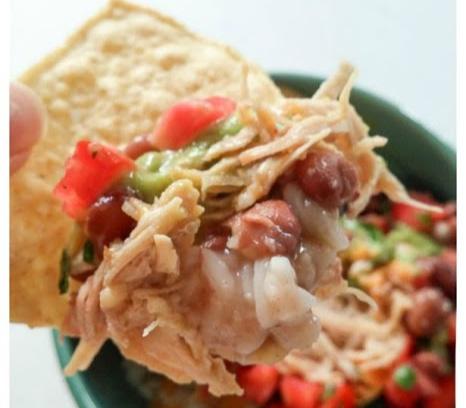 chicken burrito bowls with tortillas