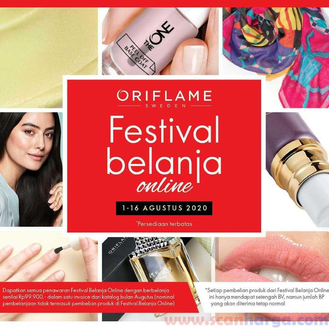 Promo Oriflame Festival Belanja