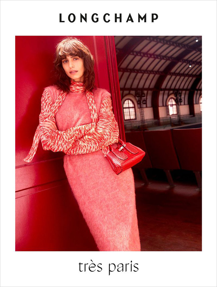 Mica Argañaraz is the Face of LONGCHAMP Fall Winter 2021 Collection