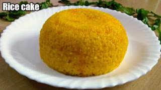 Leftover rice recipe-Steamed rice cake, Rice cake within 15 minutes, Instant rice cake