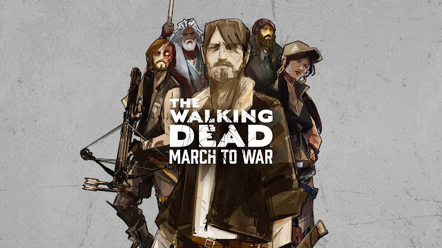 The Walking Dead: March To War (Marcha para a Guerra) deve chegar ao em breve.