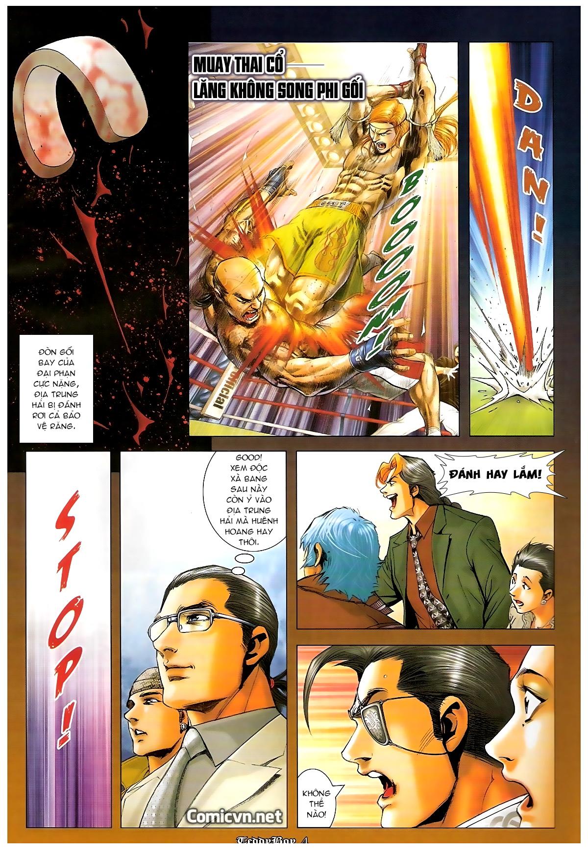 Người Trong Giang Hồ - Chapter 1253: Đánh gục Kim Mông Không - Pic 3