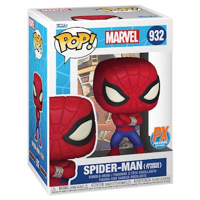 Spider-Man Japanese TV Series Edition Pop! Marvel Vinyl Figure by Funko
