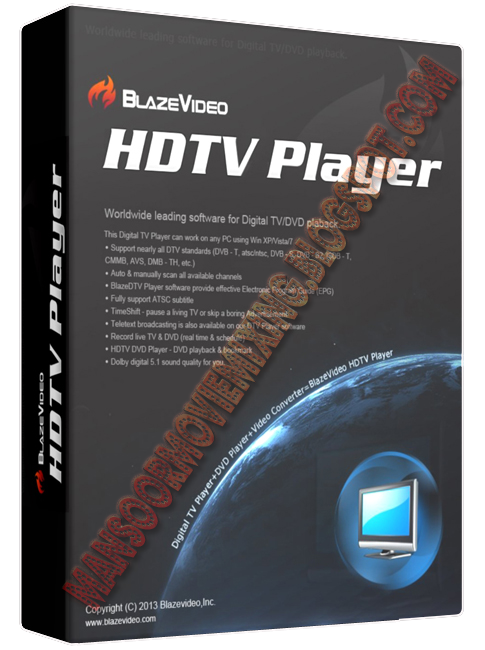 Blazevideo hdtv player professional 6.6